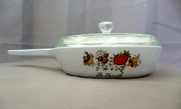 Vintage Spice Of Life Corning Ware Pan