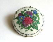 Vintage Painted Porcelain...