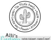 Return address stamps invitations custom by alliscreations