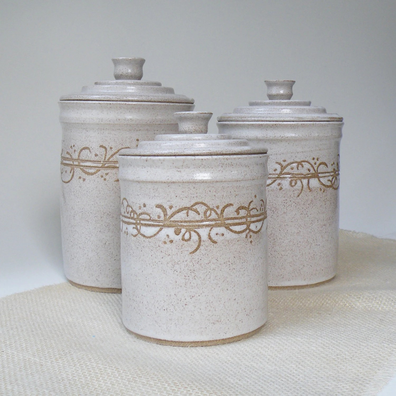 kitchen canisters ceramic modern corner table canister sets for cerami roselawnlutheran