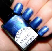 ice queen blue violet nail polish
