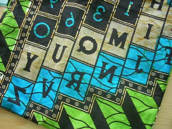 destash sale - african fabric 12 - FREE SHIPPING