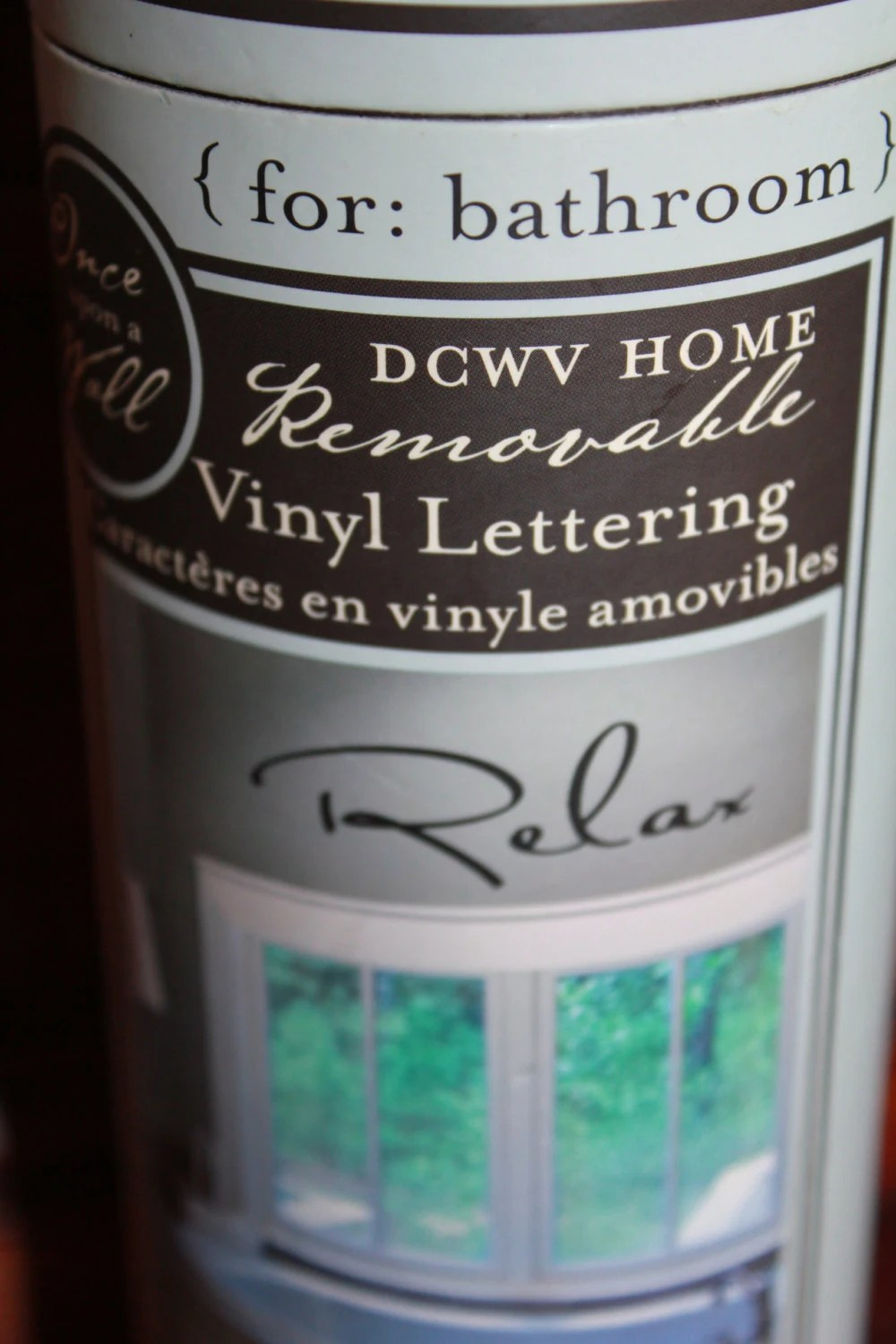 Vinyl Wall Decals Relax DCWV Home by TalesofTime on Etsy