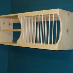 Wooden Kitchen Plate Rack Cabinet China New Modern Wood Dish Mugs Glasses By