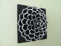 Felt Flower Wall Art Pattern SOPHIA FLOWER Fabric Flower Wall