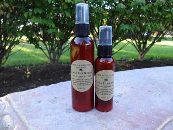 Facial Moisturizer With Argan Oil & Organic Aloe Vera Juice