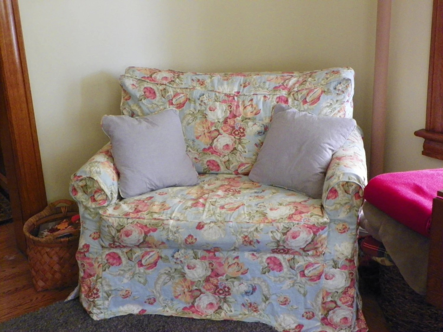 Items Similar To Chair And A Half Custom Made Slipcover On Etsy