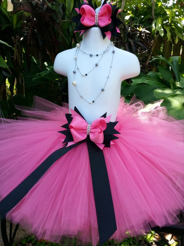 Handmade Barbie Inspired Tutu Skirt Hot Pink