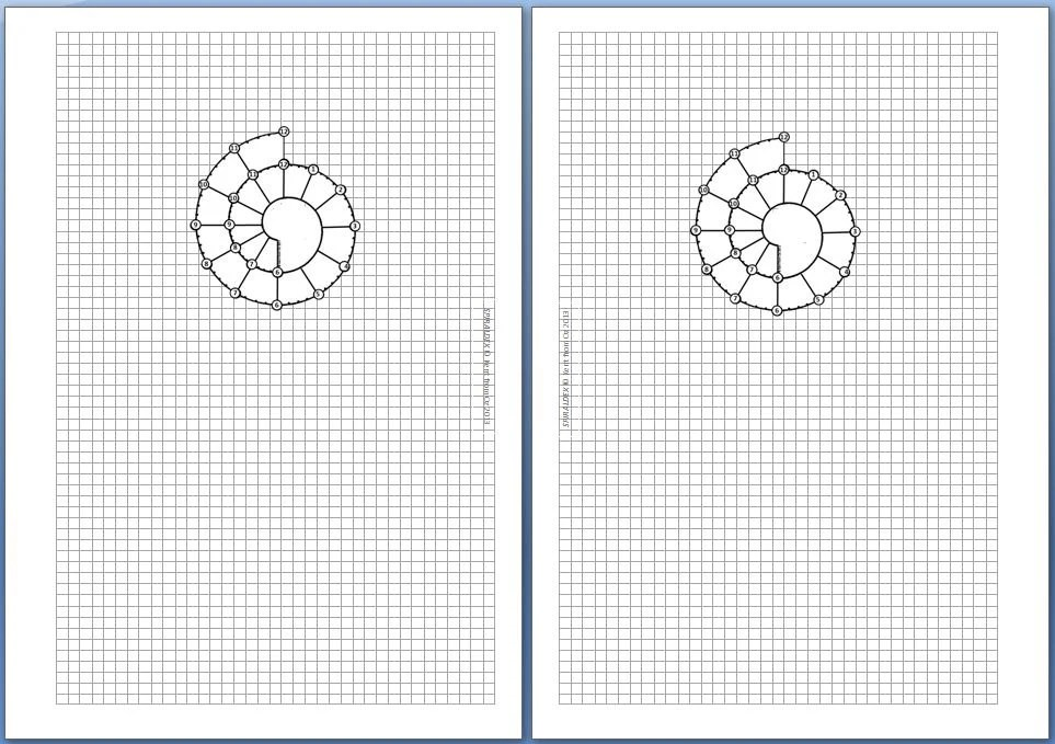 Spiraldex Day On 1 Page A5 Blank for Filofax