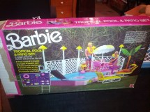 Rare Vintage 1986 Barbie Swimming Pool Tropical