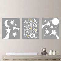 Baby Nursery Art Stars Moon Nursery Decor by ...
