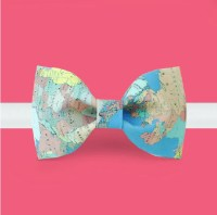 Map Bow Tie World map bowtie geography bowtie travel