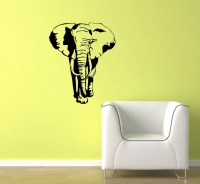 Realistic Elephant Vinyl Wall Decal Wall Art by ZuguDecals