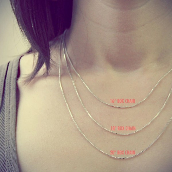 16 vs 18 Inch Necklace