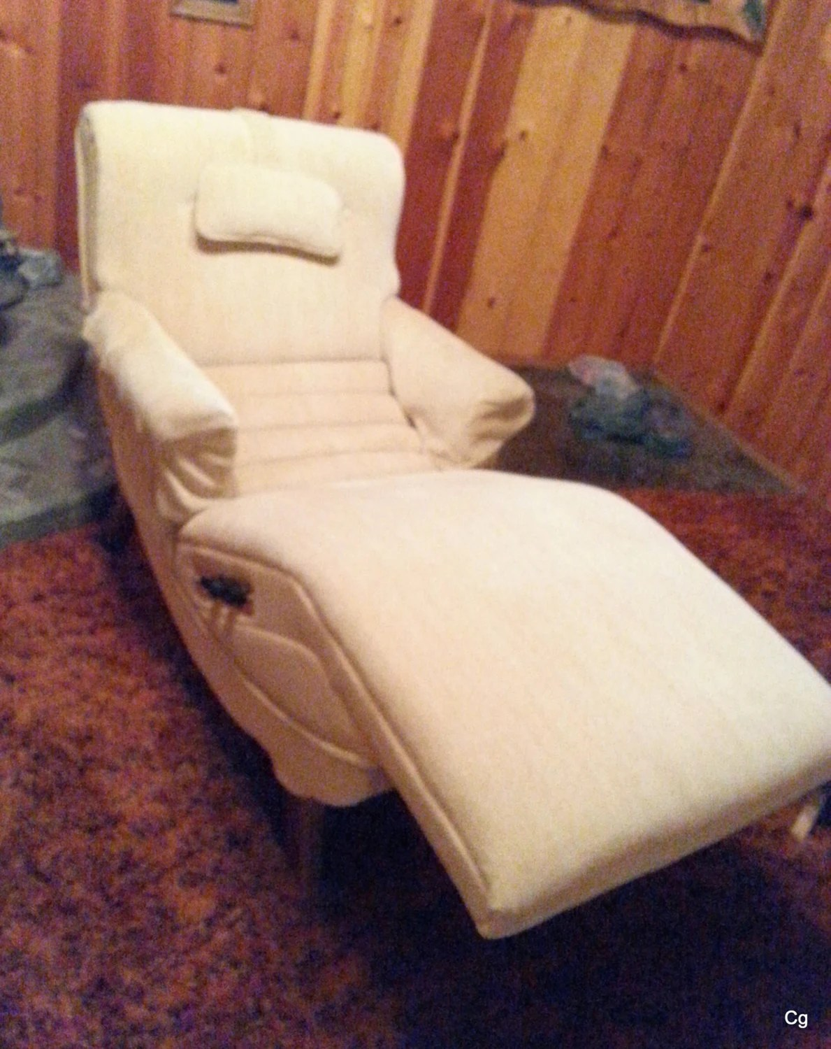 Contour Chair Lounge Mid Century Contour Chair Lounge Recliner Heat Massaging Reclining