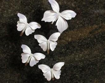 butterfly hair clip etsy uk