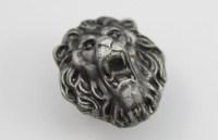 Lion Design Drawer Knobs / Animal Cabinet Knobs / Dresser