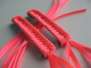 items similar neon pink braided