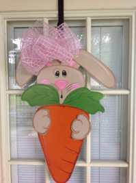 front door decor Easter decorations Easter door hangers