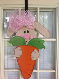 front door decor Easter decorations Easter door hangers