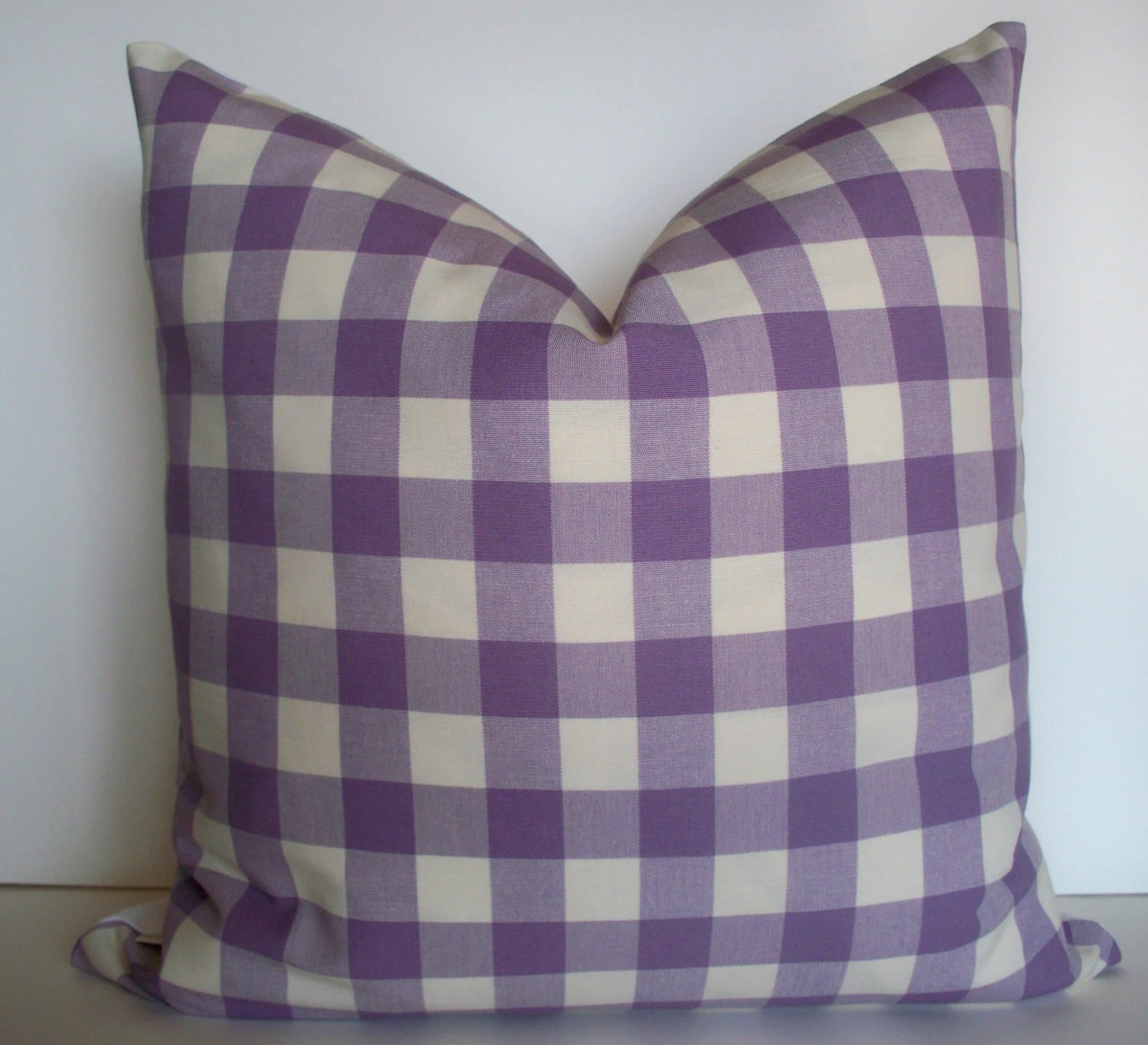 buffalo check sofa cover modern sectional fabric popular items for pillow on etsy