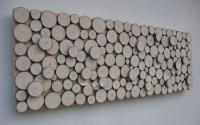 Wood Slice Wall Art Rustic Sculpture Abstract Tree Branch