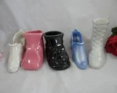 Set of 5 Miniature Porcel...