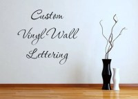 Custom Vinyl Wall Lettering Vinyl Decals by