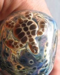 Sea Turtle Glass Pipe Collectable Tobacco Pipes