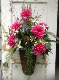 Wreaths Large Summer Front Door Wreath Summer by ...