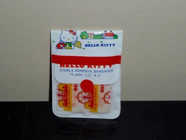 Vintage Sanrio 1976 Kitty Band Aid Bandages Unused Pack
