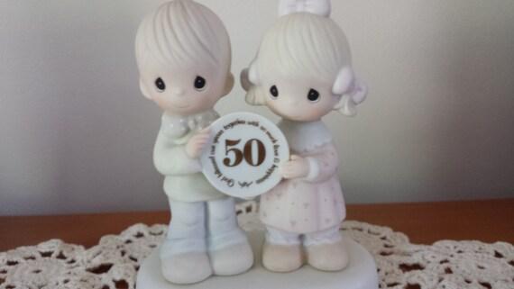 Precious Moments 50th Wedding Anniversary figurine 1983