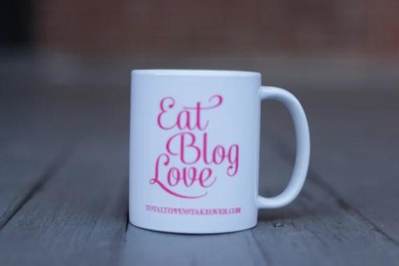 Custom Blog Mug- Pink