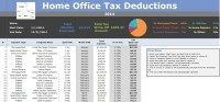 Home Office Deduction Tracking Tax Write-off Calculator ...
