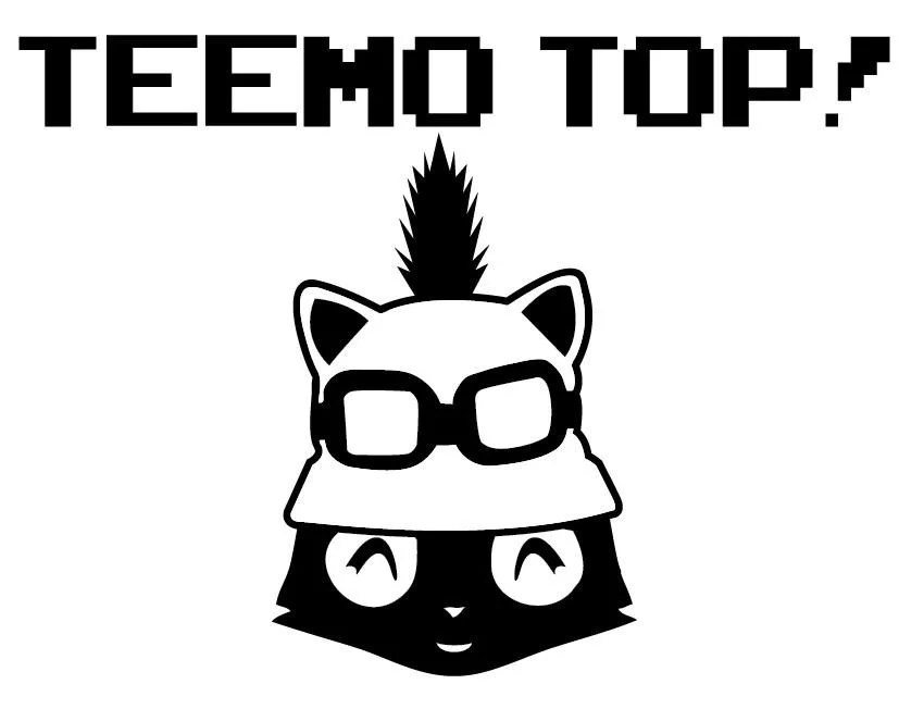 Teemo League of Legends Gaming Decal