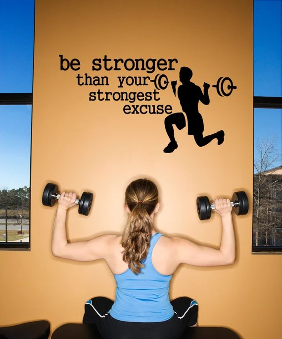 Be Stronger than Your Strongest Excuse by HouseHoldWords