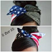 camo patriotic dolly bow military