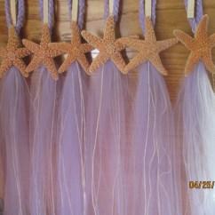 Starfish Wedding Chair Decorations Lounge Cover Beach Decor 10 Hangers