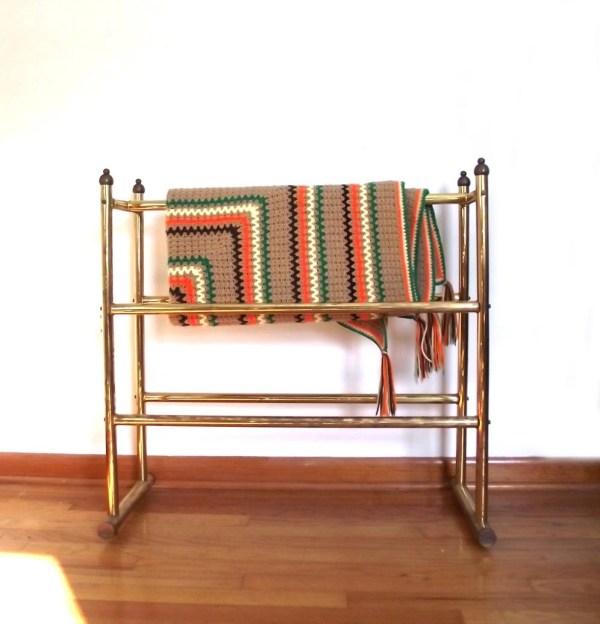 Vintage Antique Quilt Rack