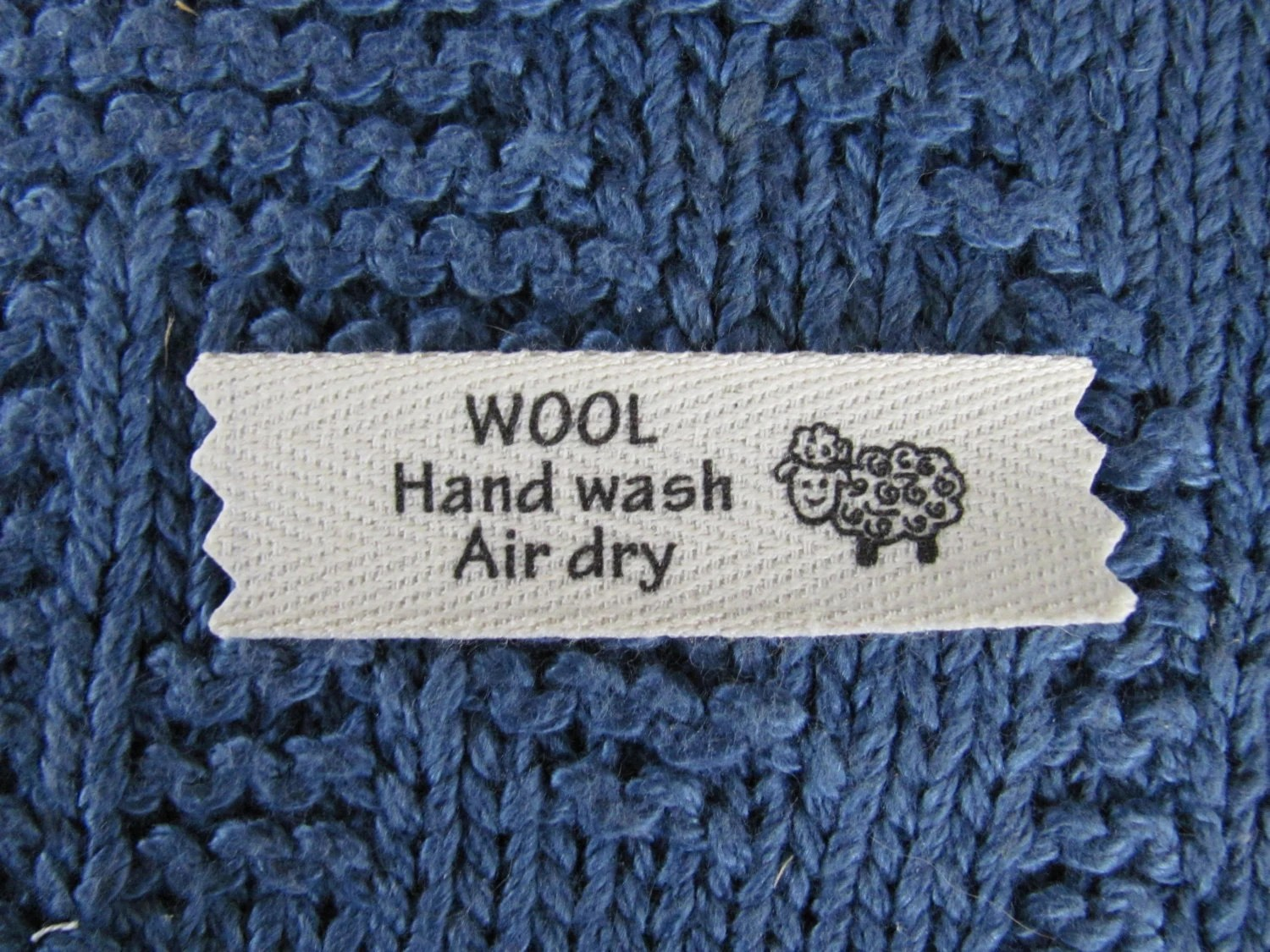 Wool Care Labels
