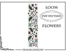 Popular items for loom bead patterns on Etsy