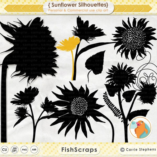 country sunflower clip art cliparts