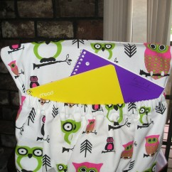 Classroom Chair Covers With Pocket Best Dorm Room Lounge Chairs Hoot Owl Fabric Kindergarten Cover