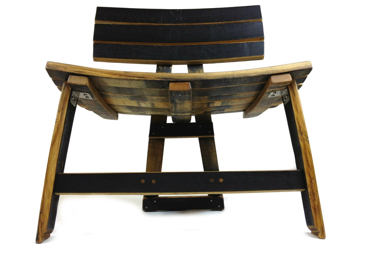 Black Barrel Chair Bourbon Barrel Dresser Chair Black Natural By