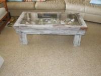 Coastal Coffee Table | Shadow Box Style | Green Life