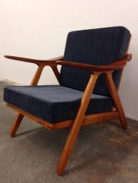 Items similar to Danish Mid Century Modern Style Teak ...