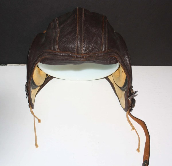 Wwii Usn Flight Leather Cap