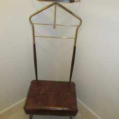 Mens Valet Chair Anna Slipcover Mid Century Butler Furniture