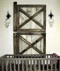 Vintage Rustic Barn Door Wall Decor by Rustic Luxe