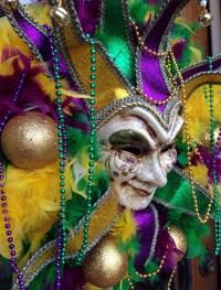 Mardi Gras Wreath Door Decorations Mardi by FEATHERFABULOUS4U